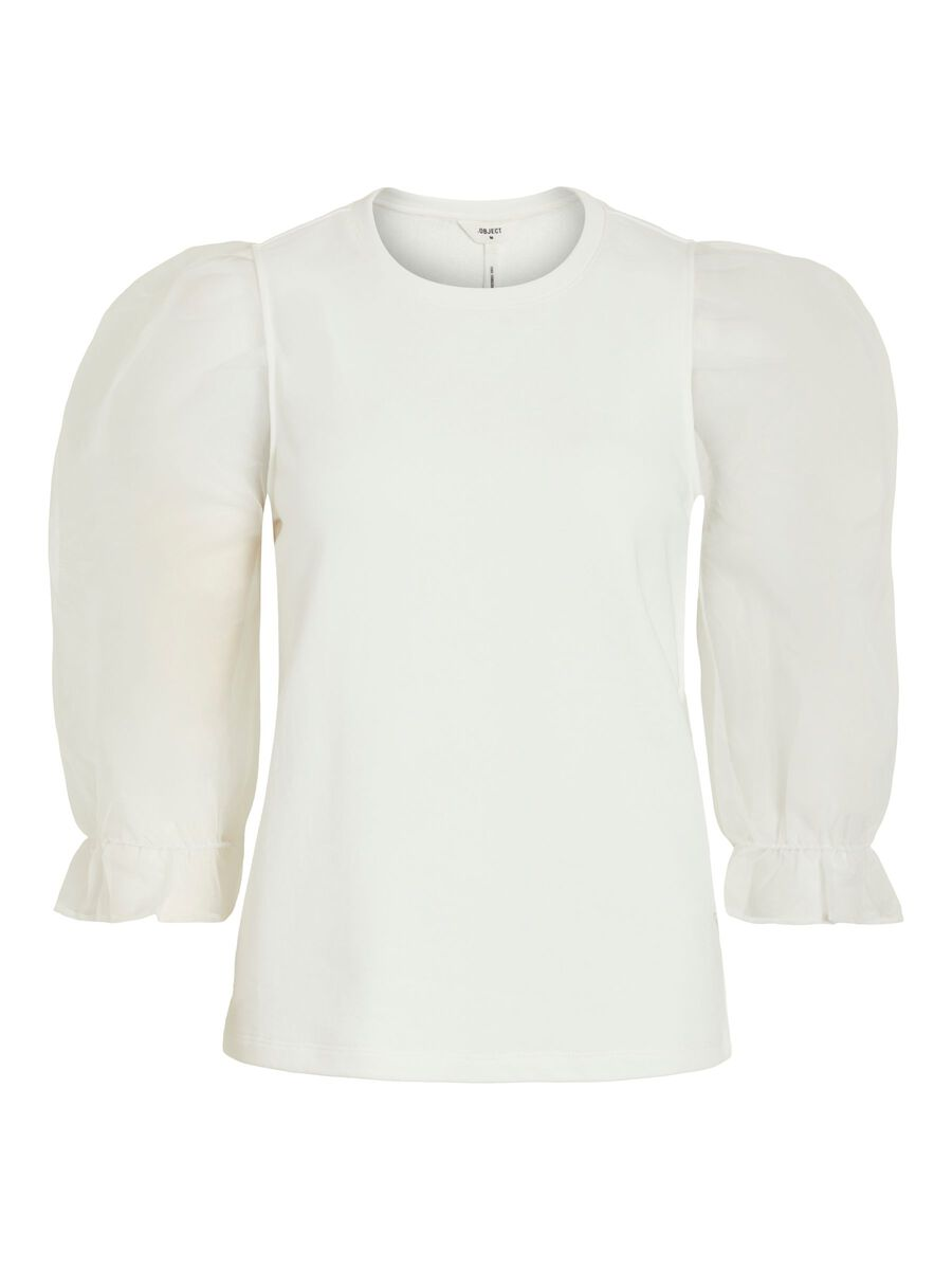 OBJECT COLLECTORS ITEM 3/4-mouw Partytop Dames White