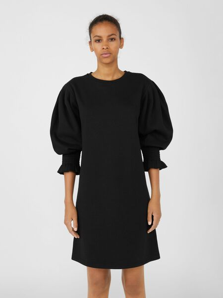 Object Collectors Item KNITTED SWEATER DRESS, Black, highres - 23037208_Black_003.jpg