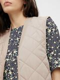 LONG QUILTED WAISTCOAT, Humus, highres
