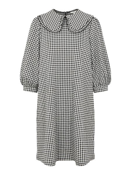 OVERSIZED COLLAR MINI DRESS
