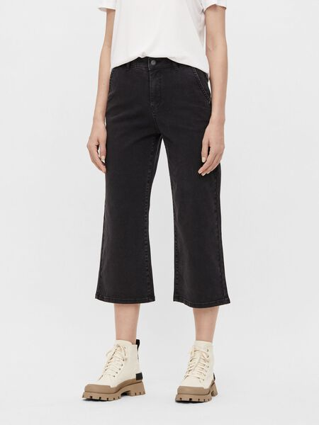 MID-WAIST WIDE FIT JEANS