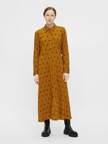 LONG SLEEVED SHIRT DRESS