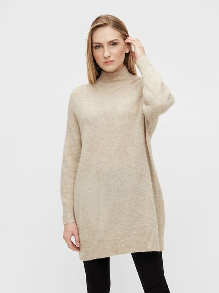 Object Collectors Item HIGH NECK PULLOVER, Silver Gray, highres - 23035773_SilverGray_868288_003.jpg