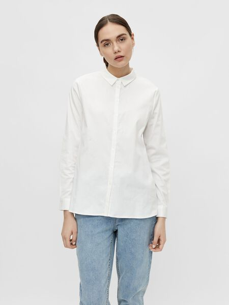 Object Collectors Item LOOSE FIT SHIRT, White, highres - 23032978_White_003.jpg