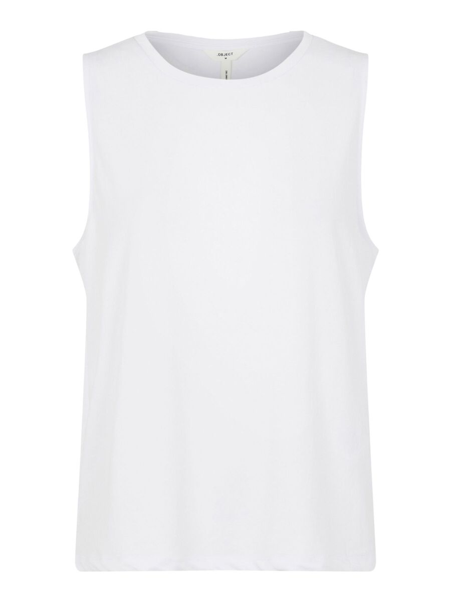 Object Collectors Item LOOSE FIT TANK TOP, White, highres - 23034437_White_001.jpg