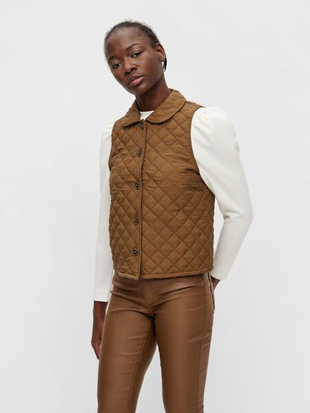 Object Collectors Item QUILTED GILET, Sepia, highres - 23037113_Sepia_003.jpg