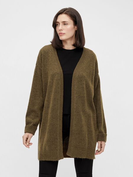 Object Collectors Item LONG KNITTED CARDIGAN, Sepia, highres - 23036373_Sepia_879974_003.jpg