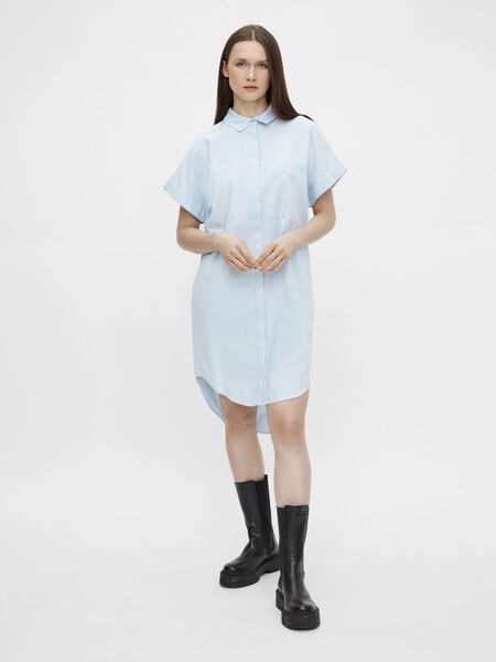 LOOSE FIT SHIRT DRESS