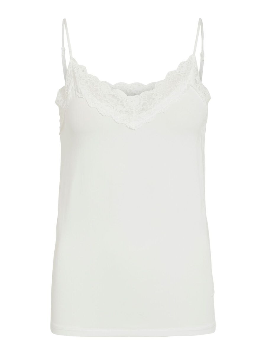 Object Collectors Item KANTEN MOUWLOZE TOP, White, highres - 23031016_White_001.jpg