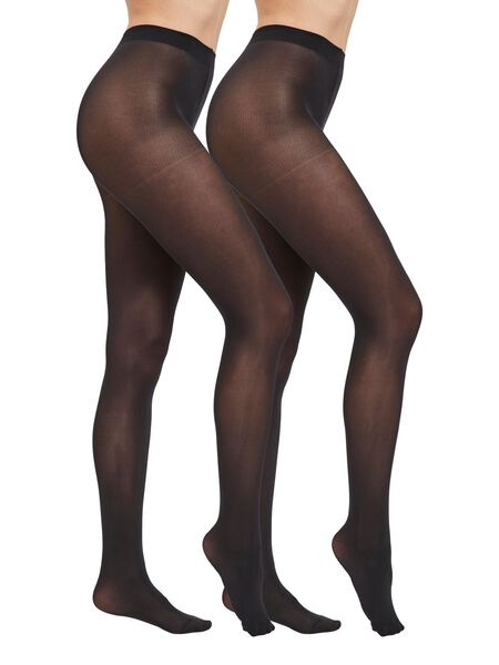 2-PACK 40 DENIER TIGHTS