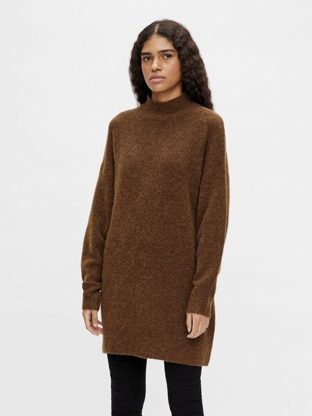 Object Collectors Item HIGH NECK PULLOVER, Sepia, highres - 23035773_Sepia_868288_003.jpg