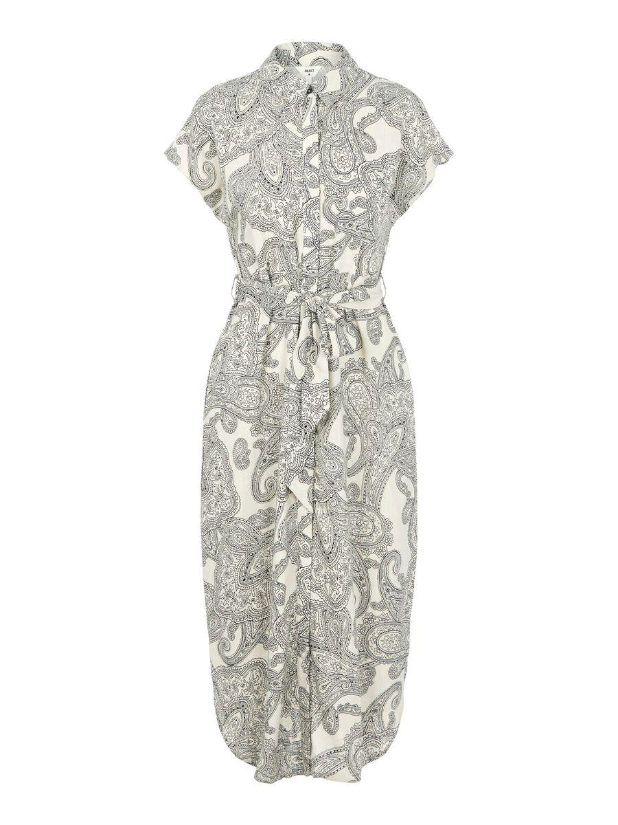 Object Collectors Item PAISLEY PRINT SHIRT DRESS, Sandshell, highres - 23035621_Sandshell_852825_001.jpg
