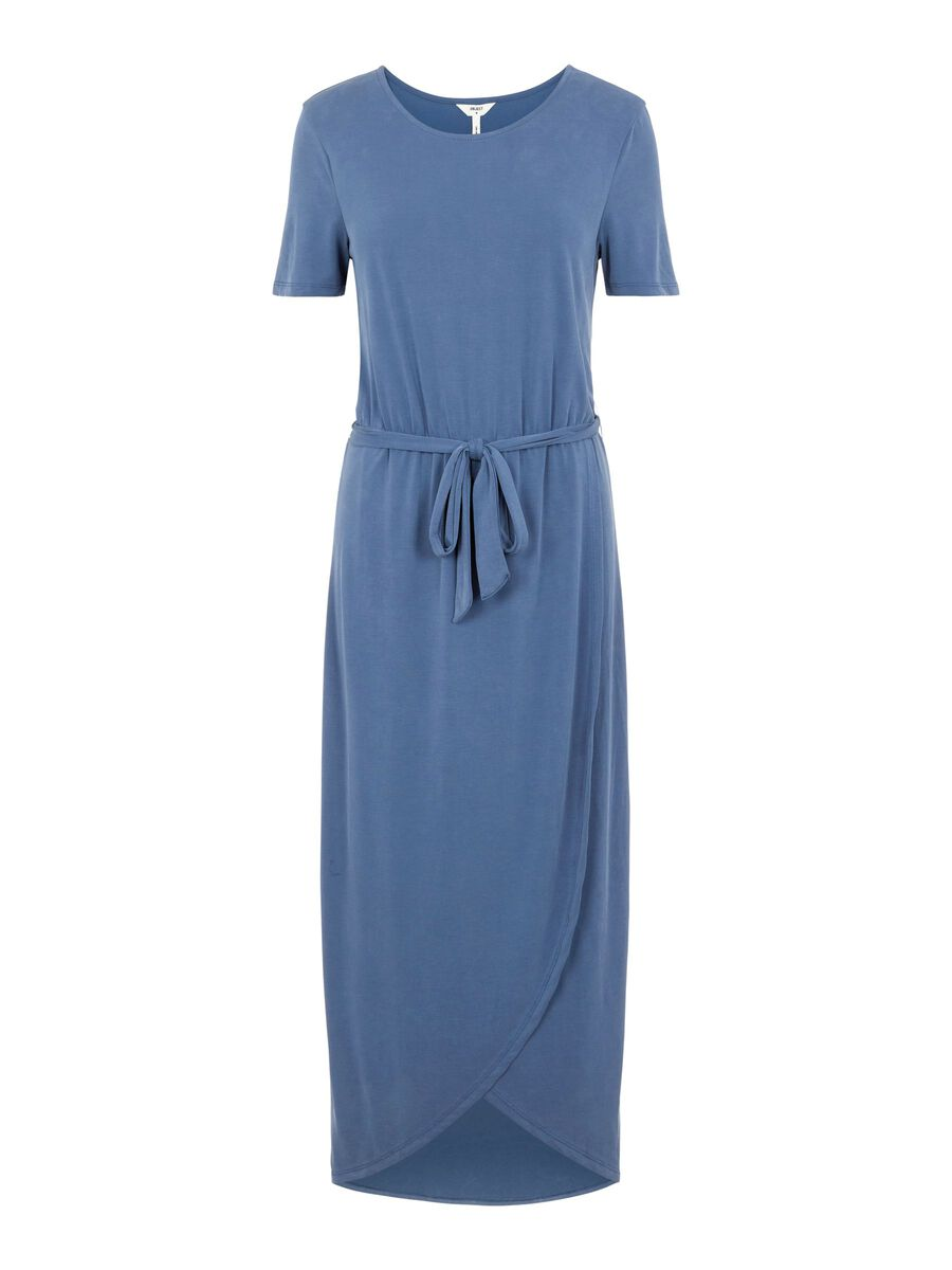 Object Collectors Item SHORT SLEEVED WAIST TIE MAXI DRESS, Ensign Blue, highres - 23031011_EnsignBlue_001.jpg