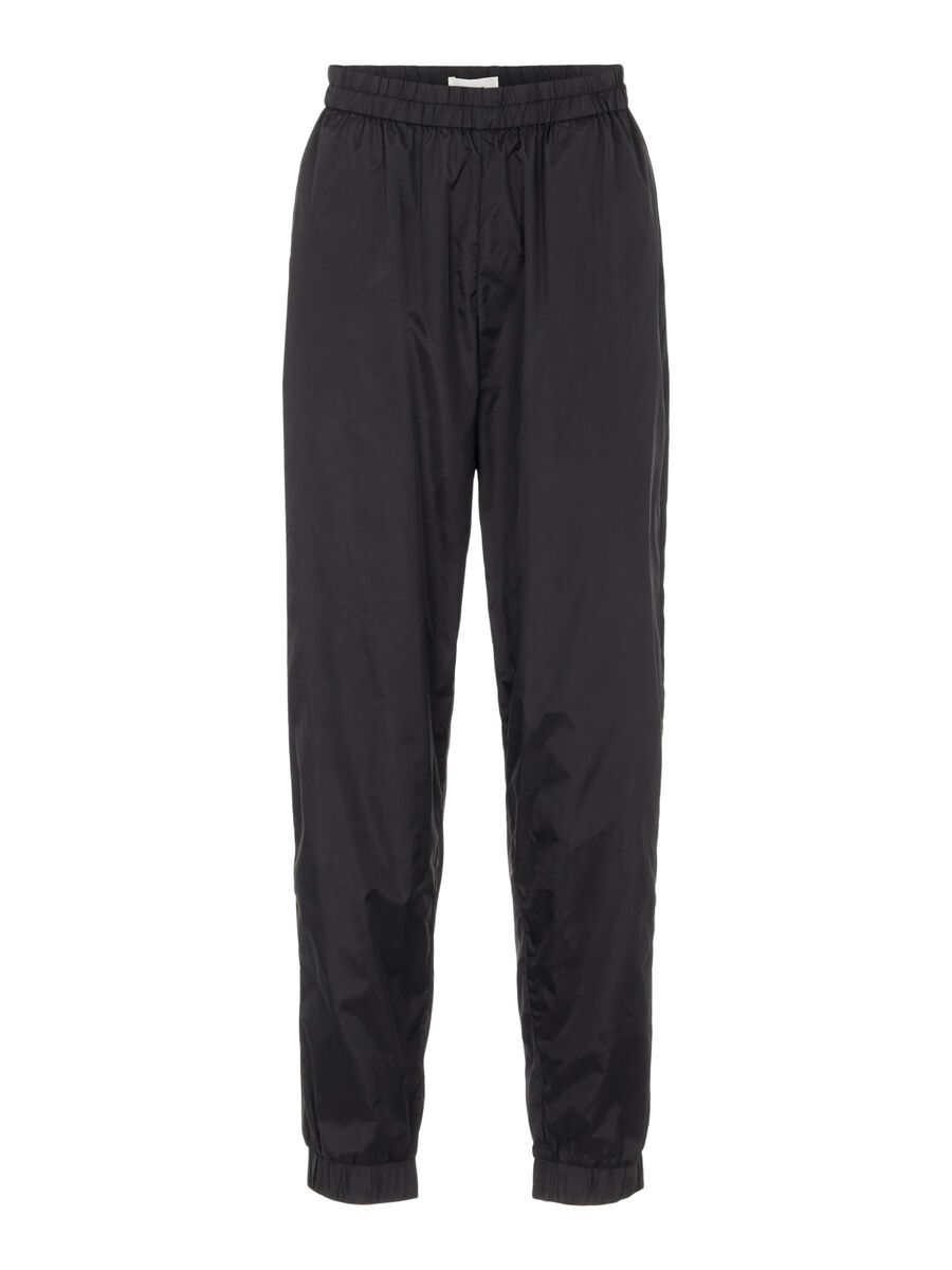 RELAXED TROUSERS, Black, highres