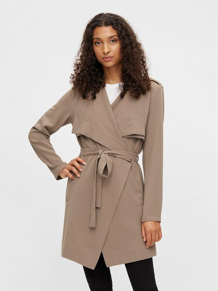 SHORT, DRAPED JACKET