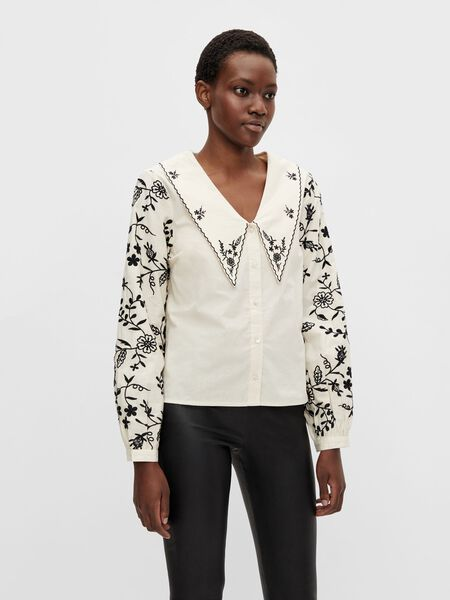 EMBROIDERED LONG SLEEVED SHIRT