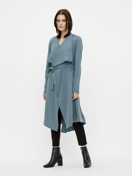 LONG DRAPED COAT