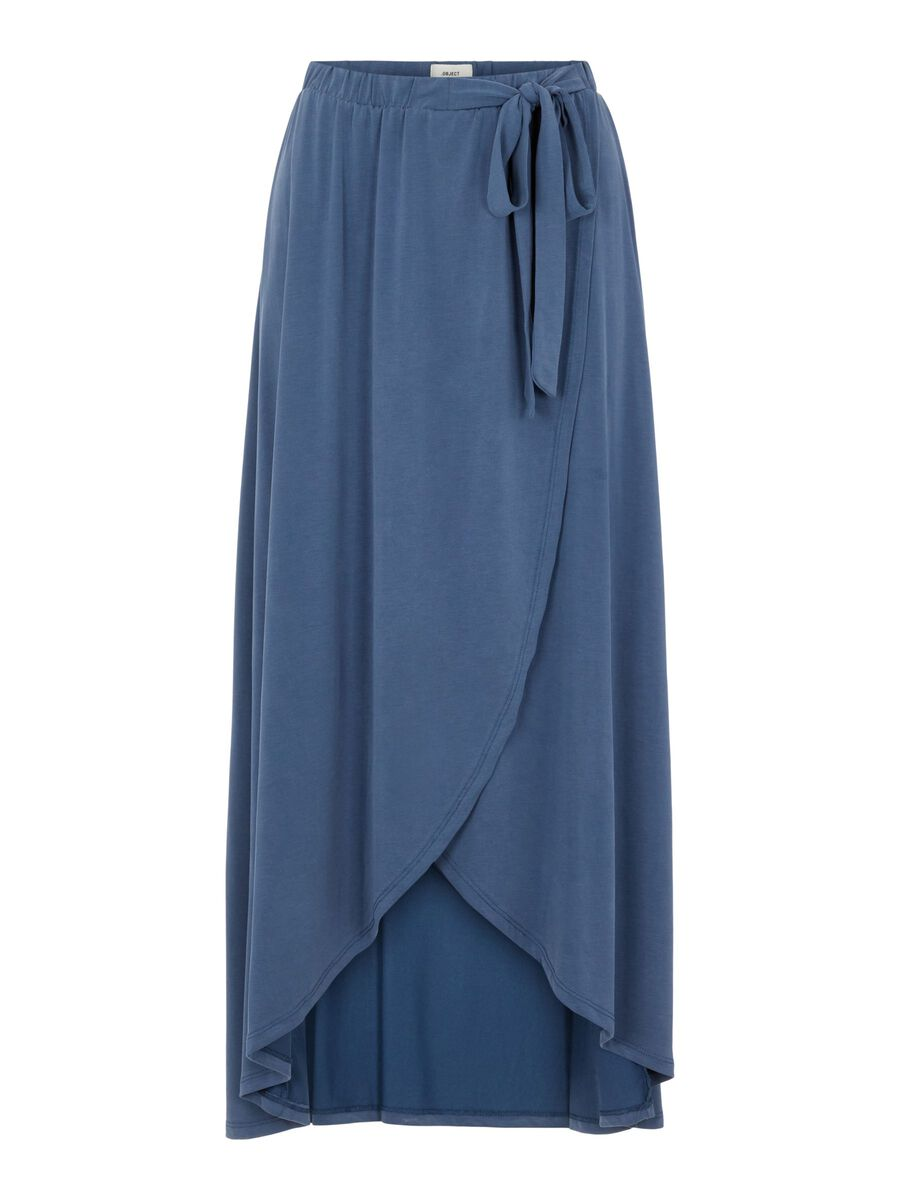 Object Collectors Item WRAP EFFECT MAXI SKIRT, Ensign Blue, highres - 23031010_EnsignBlue_001.jpg
