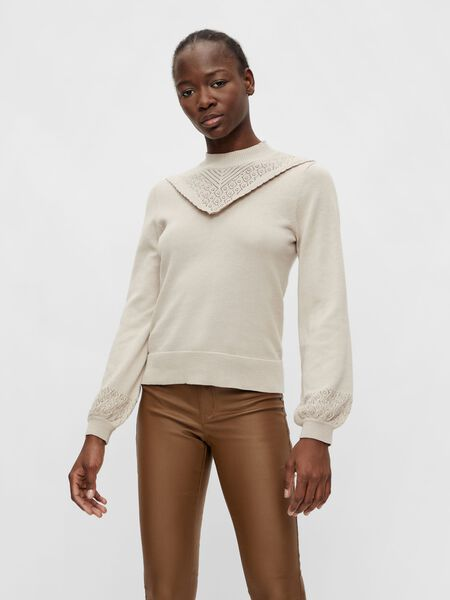 Object Collectors Item EMBROIDERED DETAIL PULLOVER, Silver Gray, highres - 23036858_SilverGray_003.jpg