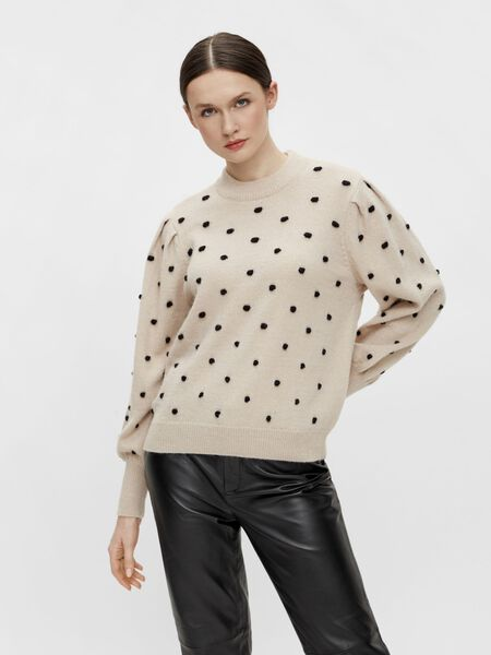 Object Collectors Item DOTTED PULLOVER, Silver Gray, highres - 23037498_SilverGray_903134_003.jpg