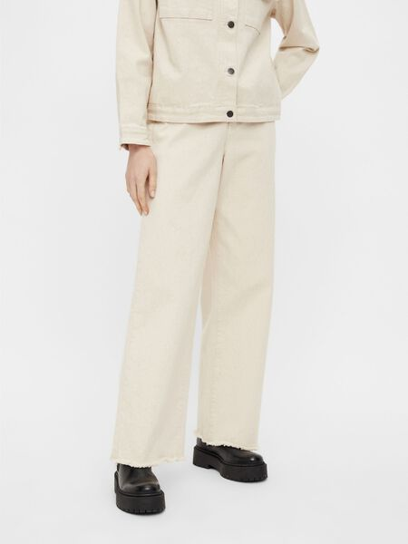 HIGH-WAIST WIDE FIT JEANS