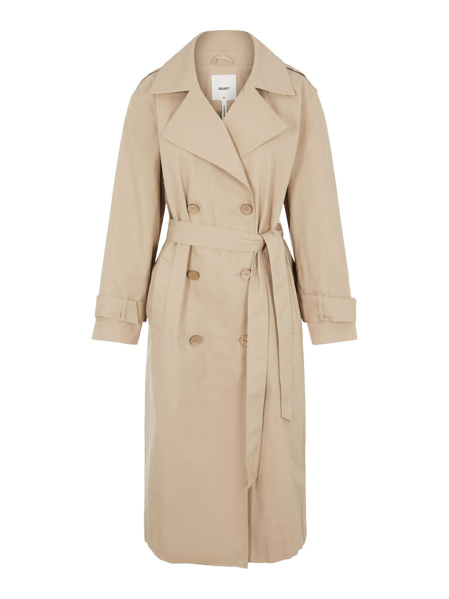 Object Collectors Item DOUBLE-BREASTED TRENCHCOAT, Humus, highres - 23035145_Humus_001.jpg