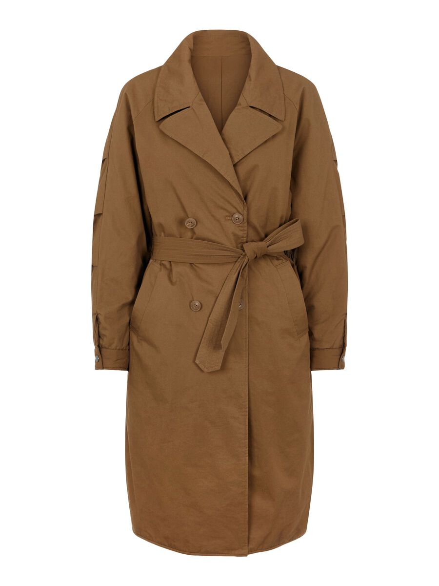 Object Collectors Item REVERSIBLE TRENCHCOAT, Sepia, highres - 23036293_Sepia_001.jpg