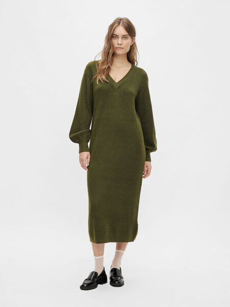 Object Collectors Item BALLOON SLEEVED KNITTED DRESS, Forest Night, highres - 23035775_ForestNight_931189_003.jpg