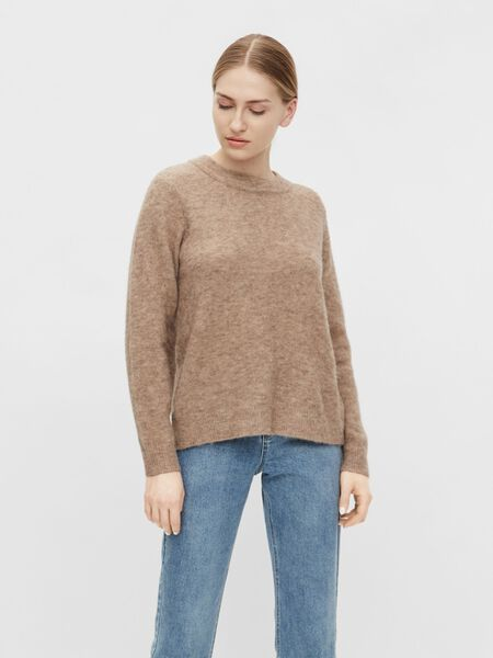 Object Collectors Item ROUND NECK KNITTED PULLOVER, Incense, highres - 23030242_Incense_910943_003.jpg