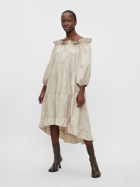 Object Collectors Item OFF SHOULDER MIDI DRESS, Silver Gray, highres - 23036751_SilverGray_003.jpg