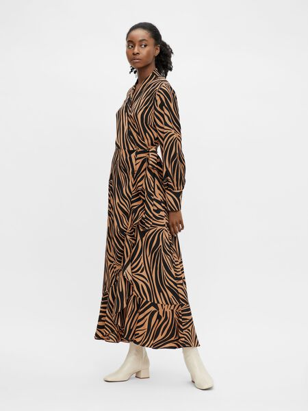 Object Collectors Item PRINTED WRAP DRESS, Sepia, highres - 23038297_Sepia_939399_003.jpg